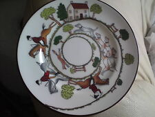 crown staffordshire Hunting Scene Fine Bone China small plate, 15.9 CMS APPROX.