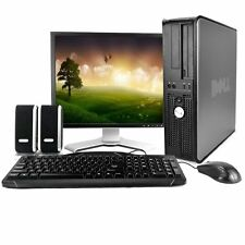 "Dell 760 Desktop with Dell 19"" LCD, 4GB, Dual-Core CPU, & Genuine Windows 7 Pro"