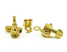 Genuine Grover 505G6 Mini Roto-Grip Locking Rotomatic 6 Inline tuners, Gold