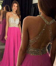 2016 Sexy Peach Evening Dresses Elegant Prom Gowns Party Dress Custom Made