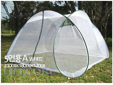 4-5 Person Portable Foldable Pop Up In/Outdoor Mosquito Insect Net Camping Tent