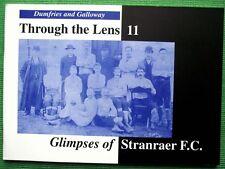 Libro de Fotos Antiguas & Tarjetas postales Stranraer Club De Fútbol Galloway