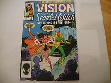 VISION & THE SCARLET WITCH #4 OF 12 LIM SERIES (6.5 FN) 1/86 -  HIGH MID GRADE!