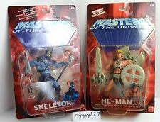 MOTU, He-Man & Skeletor, 200x, Masters of the Universe, MOC, carded, He Man