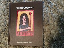 TOMI UNGERER ALLUMETTE FIRST EDITION 1974 WITH DUST JACKET *LOOK AT PICS *