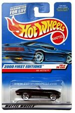 2000 Hot Wheels #79 First Edition '65 Chevy Corvette full crd