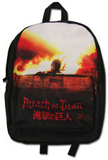 Attack on Titan Key Art Back Pack Bag Anime Manga NEW