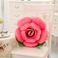 Big Rose Flower 3D Pillows Plush Toy Car Chair Cushion Decor Mother's Day Gift