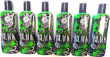 Lot of 6 Deviously Black 45X Dark Bronzer Indoor Tanning Lotion Australian Gold