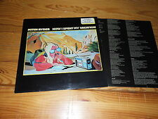 MITCH RYDER - HOW I SPENT MY VACATION / LINE-LP 1979 MINT- & INLET