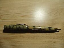 WEAREVER BANDED Spider Vein Blue COMBINATION FOUNTAIN PEN MECHANICAL PENCIL