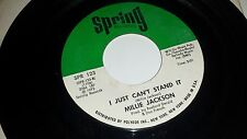 MILLIE JACKSON Ask Me What You Want / I Just Can't Stand It SPRING 123 SOUL 45