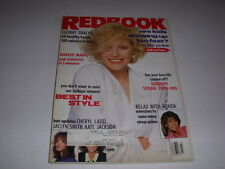 REDBOOK Magazine, March, 1990, CHERYL LADD, JACLYN SMITH, KATE JACKSON HAIRDOS!