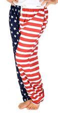 American Flag Pajama Pants - Adult Lounge Pants Adult Medium