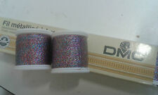 100m REEL OF DMC RAINBOW FILAMENT THREAD   4 CROSS STITCHING,CARDS,DRESS MAKING