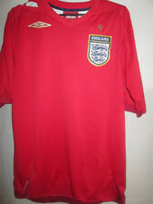 2006-2008 Away  beckham era umbro England Football Shirt Size large /13582