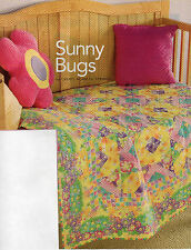 Sunny Bugs Quilt Pattern Pieced CF