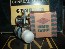 1939 Chevrolet Truck &Car  NOS Ark-Les Heater Switch with Box 1940,1941, Vintage