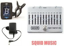 MXR Dunlop Ten Band Graphic EQ Pedal M108S M-108S 10 BAND ( FREE DUNLOP TUNER )
