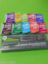 2 boxes  x 6 pcs Pilot Ink Cartridge for Parallel Pen RED INK  IC-P3-S6-R