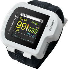 CMS50I Wrist Pulse Oximeter, ideal for long-term PR & O2 Saturation Monitoring