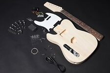 Kit Guitarra Telecaster Tilo para zurdos -Left-handed TL guitar Kit DIY Basswood