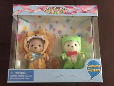 Calico Critters #CC9011 Costume Critters Lion & Frog New In Box