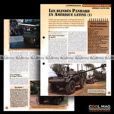 #vm121.05 ★ LES BLINDES PANHARD (1) / AML 90 ★ Fiche Véhicule Militaire