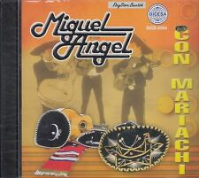 Miguel Angel Con Mariachi CD New Sealed