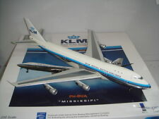 "Inflight 200 KLM Royal Dutch Airlines B747-200 ""1970s Delivey Color - Mississipi"