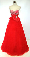 Mac Duggal COUTURE RED Evening PROM Gown 6 - $478 NWT