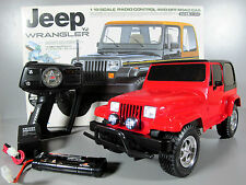 New Built Tamiya R/C 1/10 CC-01 Jeep Wrangler 4WD with LED light ESC Battery RTR