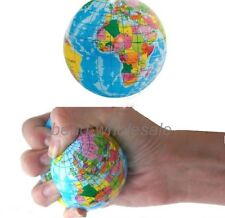 1pcs  World Map Sponge Ball Stress Relief Toy Baby Toy 3""