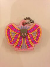 Vivienne Westwood Rubber Bow Key Ring Key Chain Brand New Cute Pink Colourful