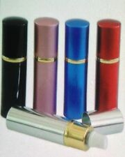 Pepper Shot 1/2 oz 10% Lipstick Pepper Spray 6 COLORS Black Pink Blue Red Silver