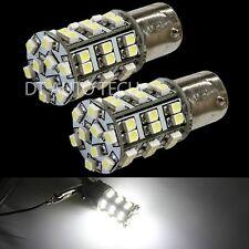 6X 6000K Xenon White 45 LEDs SMD 1156 RV Camper Trailer Interior Light Bulbs