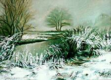 ACEO / Landscape / Limited Edition Print from an Original Painting by S.Hahonin