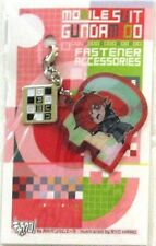 Gundam 00 Patrick Colasour fastener Accessory October Metal Charm Anime MINT