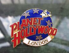 Ace Vintage 90s Planet Hollywood London Enamelled Brooch Badge Pin