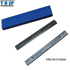 156x16.3x3mm HSS Wood Thickness Planer Blades Woodworking Power Tools Accessorie