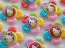100! Hello Kitty Flatback Resin Embellishments - Large Berry Flower - 29mm/1.1""
