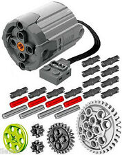 Lego Power Functions XL-Motor  (technic,truck,axle,gears,pin,car,pulley,loader)