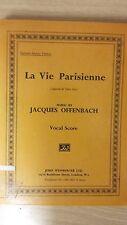 Offenbach: la Vie Parisienne partitura: (E6)