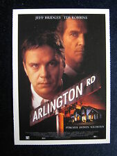 Filmplakatkarte cinema  Arlington Road    Jeff Bridges , Tim Robbins