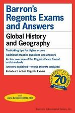 Barron's Regents Exams and Answers Bks.: Global History and Ge (FREE 2DAY SHIP)