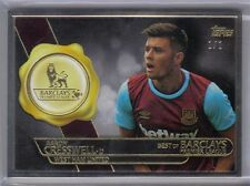 Aaron Cresswell 2015 Topps Premier Gold Framed Best of Barclays 1/1 West Ham