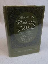 HEGEL'S PHILOSOPHY OF MIND Translated by A. V. Miller Oxford 1971