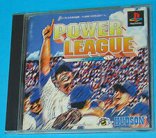 Power League -  Sony Playstation - PS1 PSX - JAP Japan
