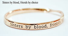 Mi Sterlina Milano Sentimental Meaningful Message Twisted Bangle Bracelet Gift