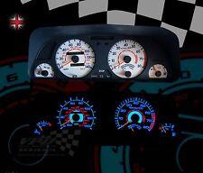 Peugeot 306 petrol phase 1 speedo interior clock dash lighting upgrade dial kit